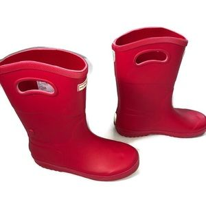 Hunter for Target Red Rain Boots Size 4